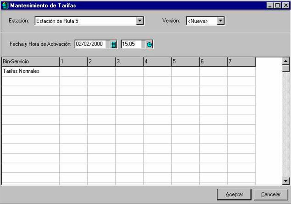 software gestion de peaje