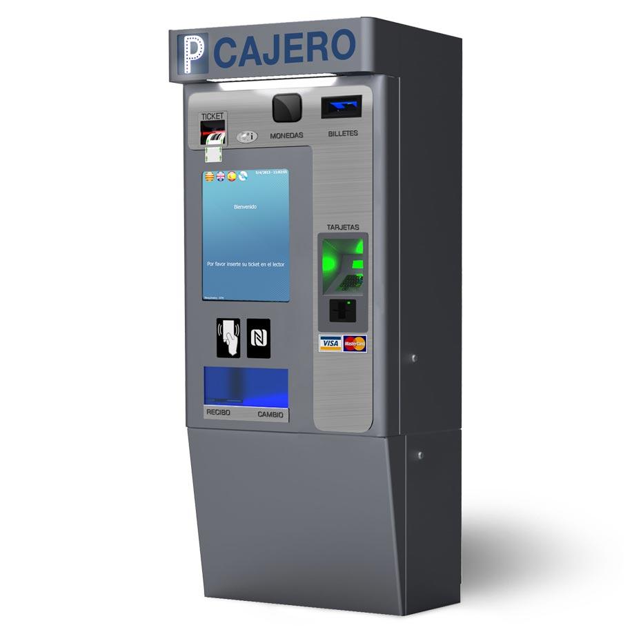 Cajero autom tico para estacionamiento for Como cobrar en un cajero automatico
