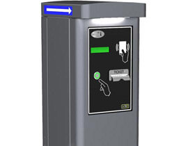 Ticket dispenser column S300