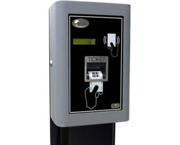 Ticket reader column S400