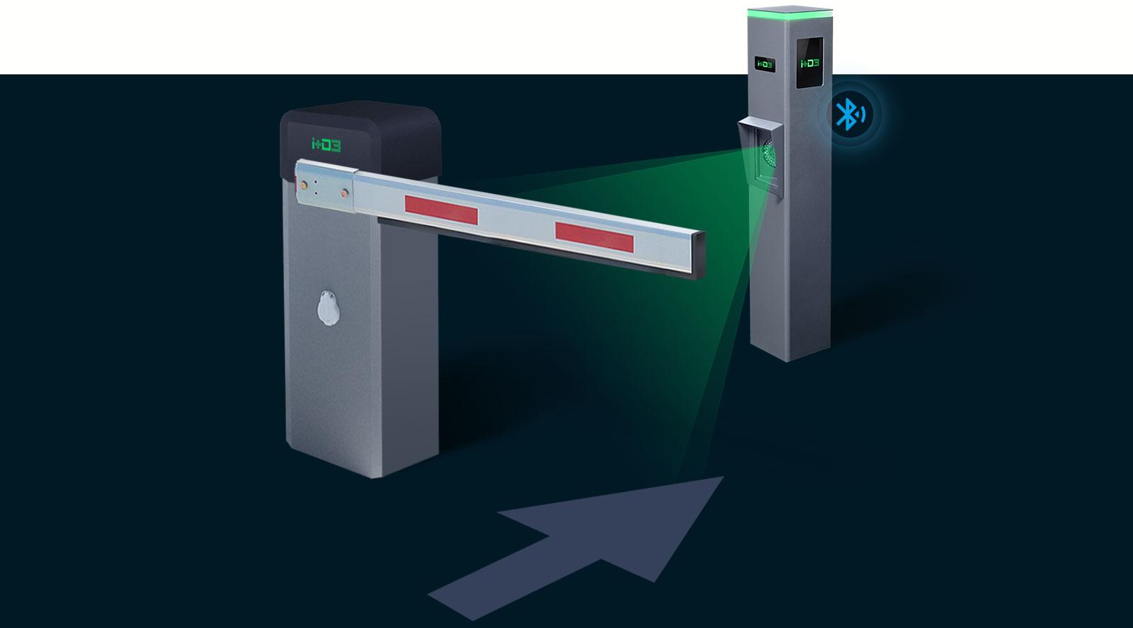sistema reconocimiento matriculas parking empresa