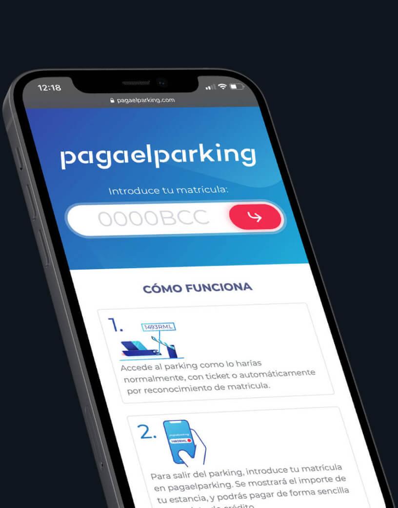 paga el parking con el movil
